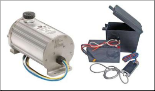 Dexter1000 PSI (Drum) Electric/Hydraulic Actuator With Breakaway FREE SHIPPING IS LOWERE 48*** (SKU: 21-358 /20-236-7 Kit)
