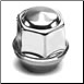 "1/2"" SS Wheel Nut 6-98 (12SSLN) (SKU: 27-008-1)"