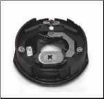 "10"" x 2 1/4""---Brake Assembly RH W/Hardware (3.5)  IMPORT...Free Delivery...Lower 48 States (SKU: 27-441/BE10-35R)"