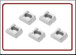 Rim Clamp 15-12 (Plated )  5 PC Set (SKU: 7700058)