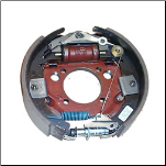 8K  LH Complete Brake Assembly - Duo-servo 23-402 / 6400041 (SKU: 27-466-F)