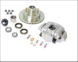 UFP by Dexter 3,750 LB  Disc Brake Complete Kit 6450742 (SKU: K71-078-05 UFP)