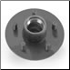 "2K Hub - 5-4.5"" Idler (1/2"" stud, 8""-12"" wheels ONLY) (SKU: 27-284-I)"