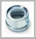 "Grease Cap EZ 21-41-1  Fits Dexter 7"", 10 x 1-1/2"" and 10 x 2-1/4"" Hub.  1.99"" OD, Plated (SKU: 27-370-2)"