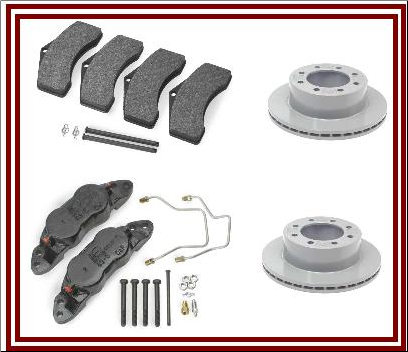 10K-12K DISC BRAKE REPLACEMENT PARTS