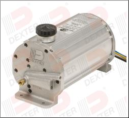 1000 Elec/Hydraulic - K71-650 Drum Brake - Dexter (SKU: K71-650-00)