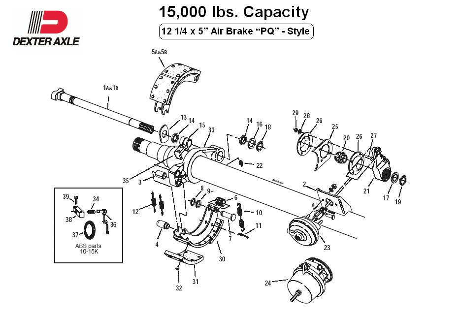 rockwell axle parts diagram