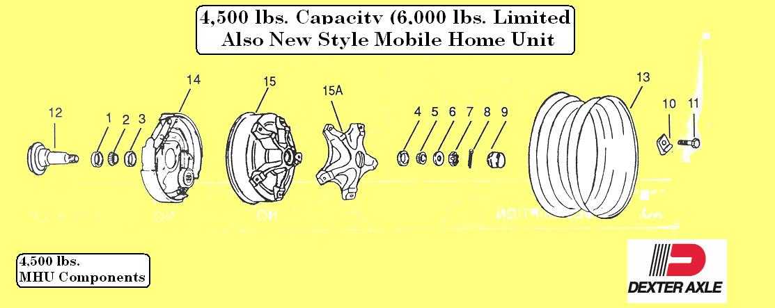 Trailer HUBS - 4,500 LBS Capacity Mobile Home Unit on mobile home landscaping, mobile home diy remodeling, mobile home beams, mobile home fuel tank, mobile home leaf springs, mobile home tools, mobile home electrical, mobile home hitch, mobile home setup equipment, mobile home suspension, mobile home moving company, mobile home locks, mobile home hauling, mobile home chassis manufacturers, mobile home mirrors, mobile home glass, mobile home wheels, mobile home skid plates, mobile home fasteners, mobile home exhaust,